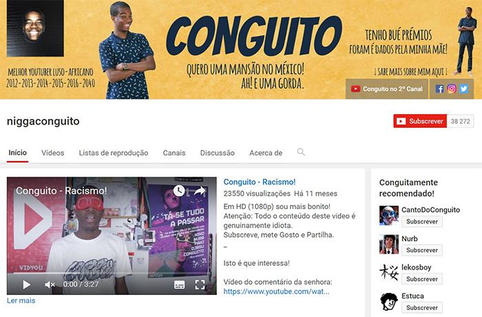 Youtuber português - Conguito