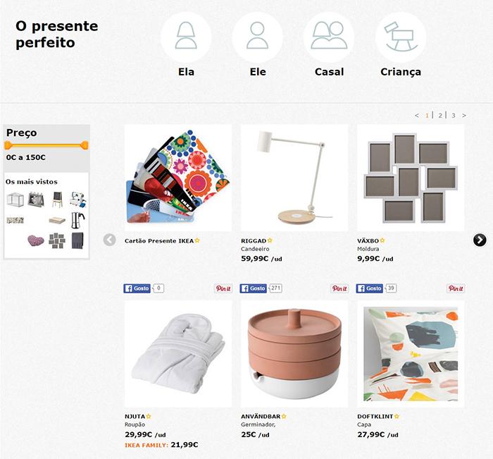 O presente perfeito - IKEA