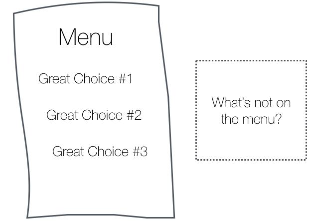 A disposição do menu impacta o uso que fazemos de sites e apps